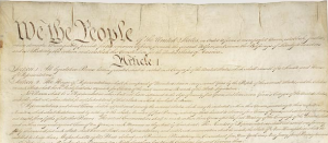 Constitution of the United States   Page 1