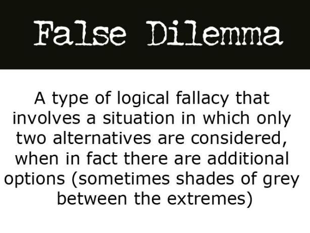 FalseDilemma